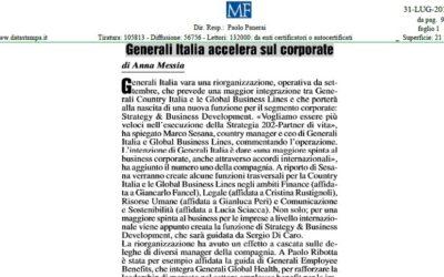 Generali Italia accelera sul corporate